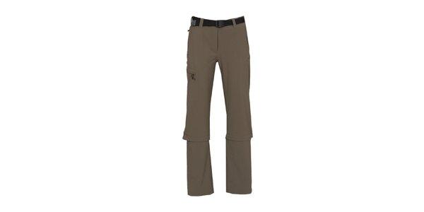 Dámske funkčné nohavice so zipsami na nohavicích Bergson