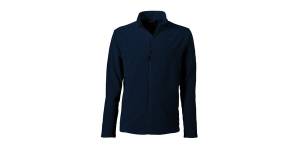 Pánska tmavo modrá fleecová bunda Maier