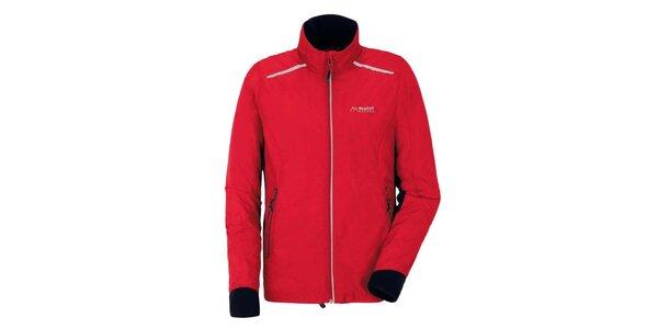 Pánska červená športová bunda Maier