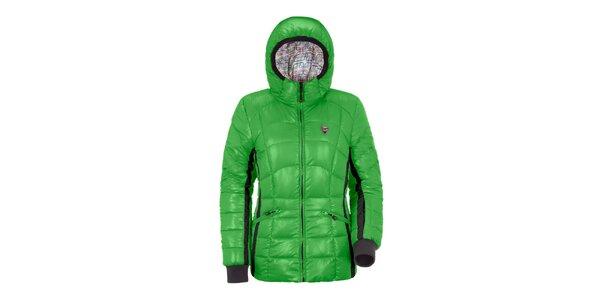 Dámska zelená páperová bunda Maier
