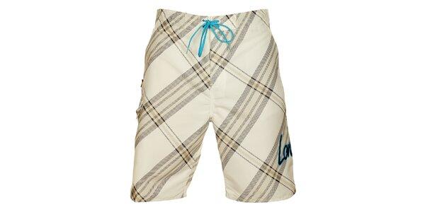 Pánske biele krátke nohavice Lonsdale