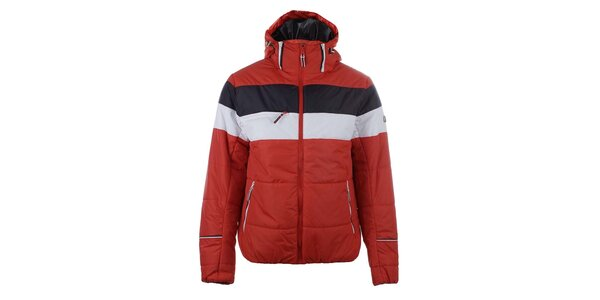 Pánska červenobiela bunda do zimy Trimm