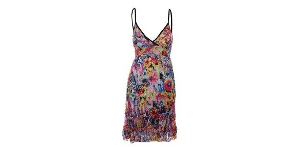Dámske kvetinové šaty Dislay DY Design