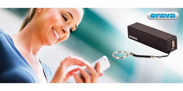 Prenosná batéria na dobíjanie mobilných zariadení