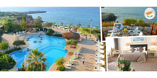 Dovolenka na Cypre v Jasmine Court Hotel****