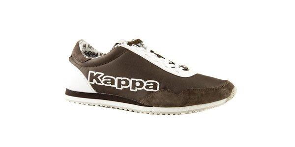 Hnedo-biele tenisky Kappa Spezial