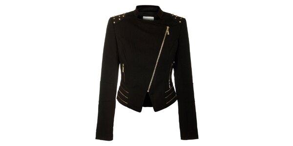 Dámsky čierny kabátik Lucy Paris