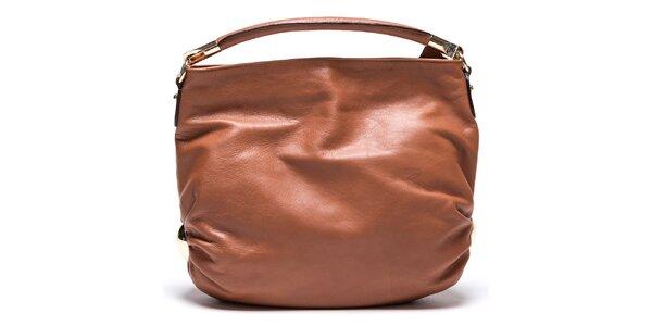 Dámska koňaková kabelka z kože Mangotti