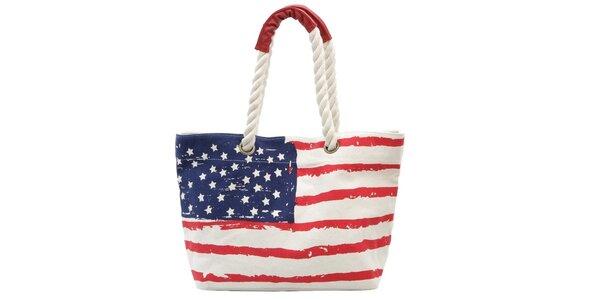 Dámska taška s americkou vlajkou Rosalita McGee