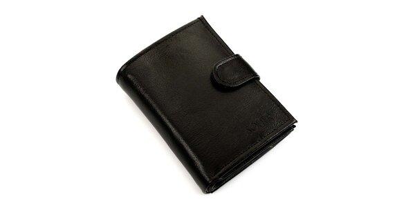 Pánska obdĺžniková peňaženka s prackou Solier