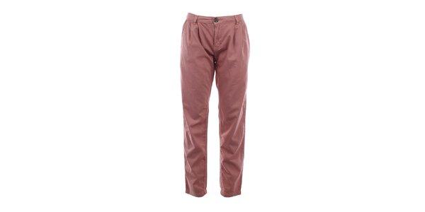 Dámske bavlnené nohavice vo farbe smoke rose Timeout