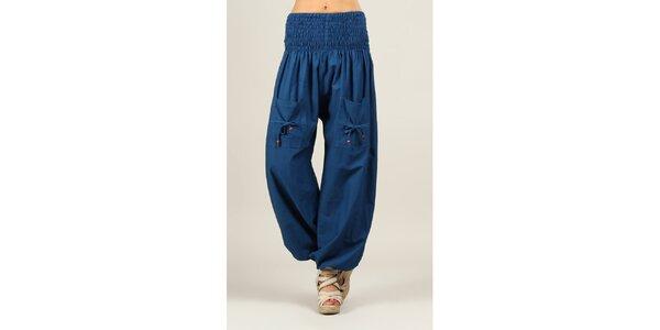 Dámske modré nohavice Ziva