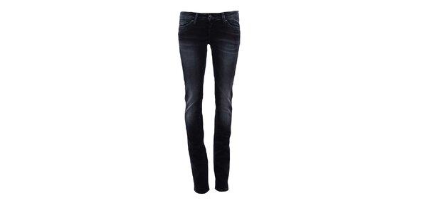 Dámske tmavo modré ľahko šisované džínsy Big Star