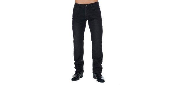 Pánske čierne nohavice s vreckami Paul Stragas