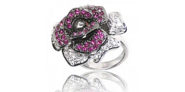 Dámsky prsteň Bague s Dames s ružou