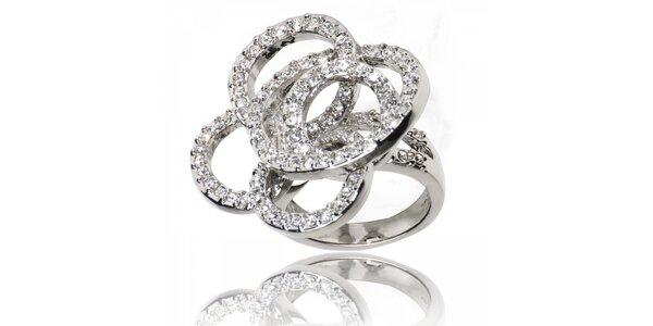 Dámsky prsteň Bague s Dames s krúžkami