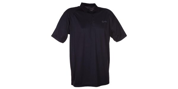 Pánske čierne technické polo tričko Kilpi
