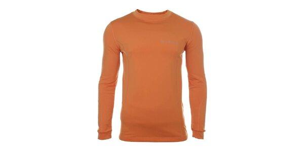 Pánske oranžové funkčné tričko Trimm