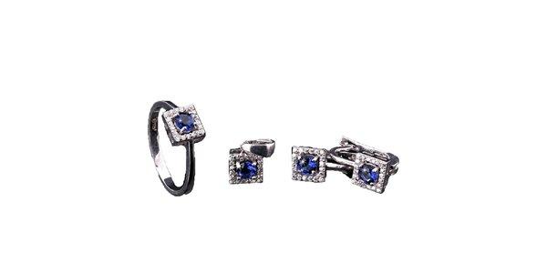 Dámska sada hranatých šperkov Afrodite