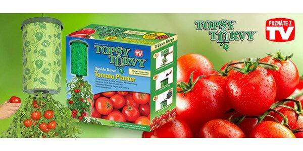 Topsy Turvy na domáce pestovanie rajčín