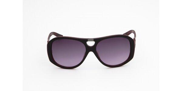 Dámske hnedo-červené slnečné okuliare Miss Sixty 82c0c8d7246