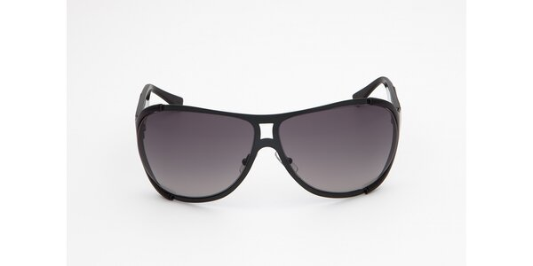 Pánske čierno-šedé slnečné okuliare Calvin Klein