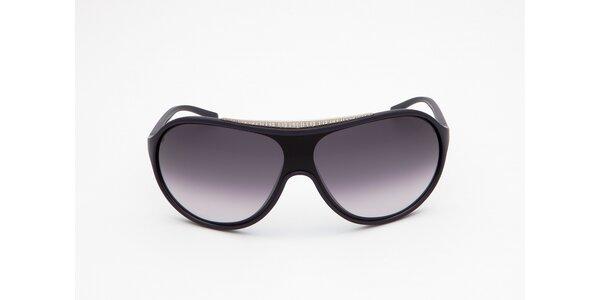 Pánske čierne slnečné okuliare Bikkembergs