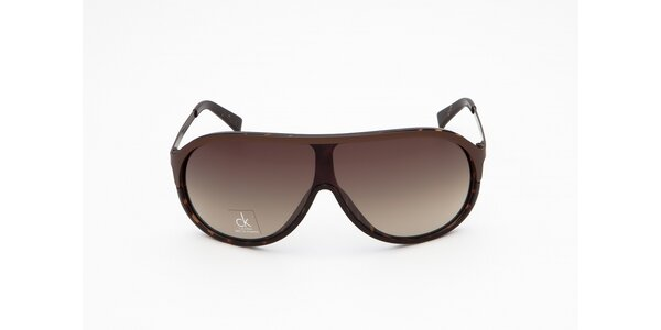 Pánske hnedé slnečné okuliare Calvin Klein