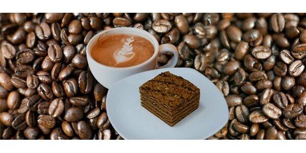 1 euro za espresso s mliekom a marlenku so zľavou 50%!