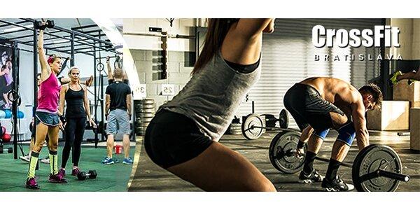 Silový CrossFit tréning s kvalifikovaným trénerom
