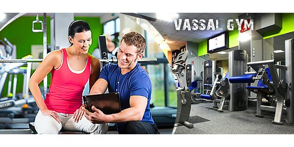 Cvičenie v moderne vybavenej posilňovni - super cena