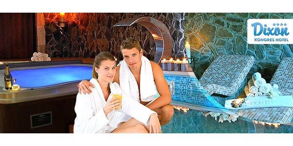 Romantický wellness pre 2 osoby v kongres hoteli