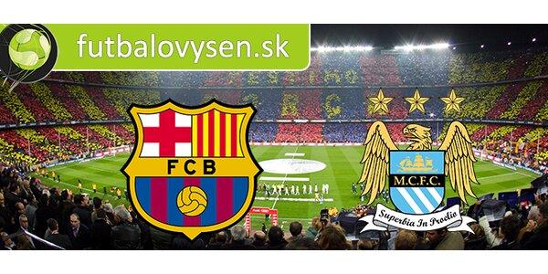 Osemfinále Ligy Majstrov FC Barcelona - Manchester City (18.3.2015)