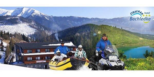 Jarný oddych a lyžovačka v Ski Bachledova