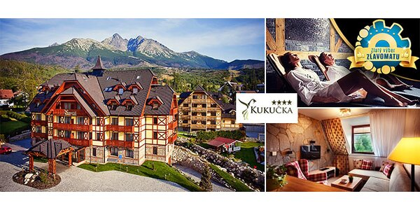 Exkluzívny Hotel Kukučka**** so vstupom na Tatrabob