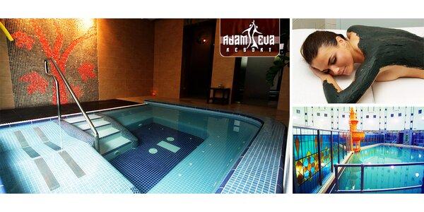 Kúpeľný pobyt s wellness a termálnymi procedúrami