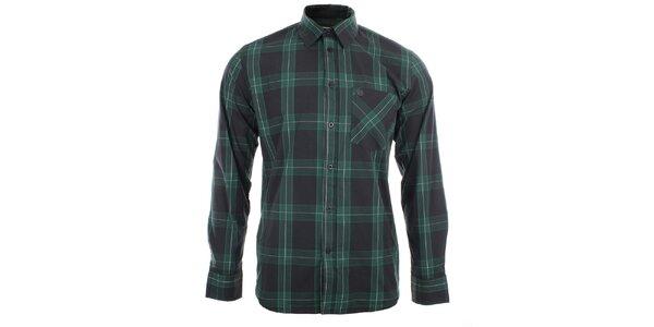 Pánska košeľa so zeľaným vzorom Big Star