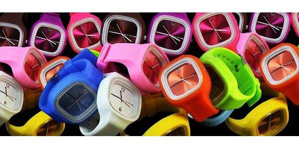 Štýlové a praktické silikónové hodinky len za 6,50 EUR!