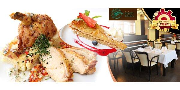 Francúzske culinárium pre dvoch, Hotel Tatra****