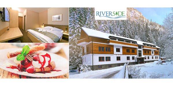 Ski pobyt v apartmánovom rezorte RiverSide Jasná