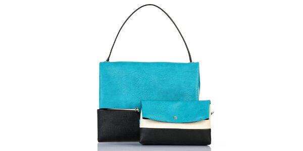 Dámska trojfarebná kabelka s vyberateľnou taštičkou Giorgio di Mare