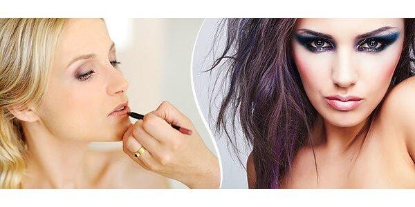 Permanentný make up - obočie, pery, očné linky