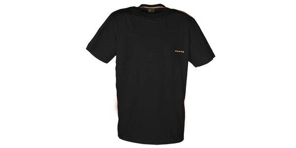 Pánske čierne tričko Envy