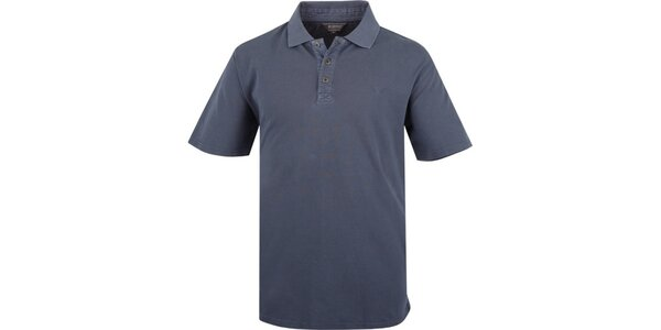 Pánske modré polo tričko Bushman