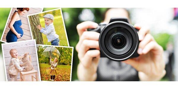 Profesionálne fotografovanie v ateliéri/exteriéri