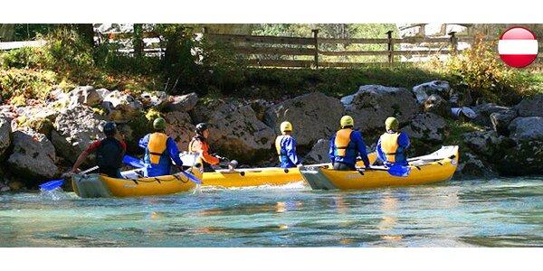 2-dňový rafting v rakúskych Alpách