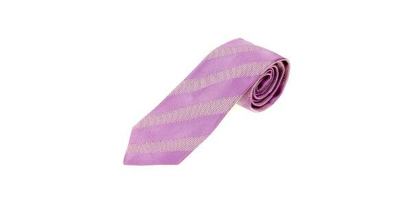 Pánska fialková kravata Gianfranco Ferré