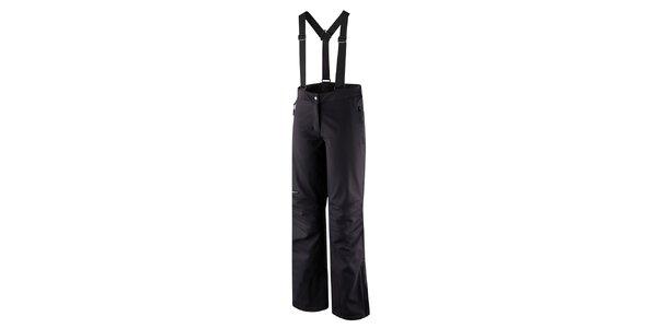 Dámske softshellové lyžiarske nohavice v antracitovej farbe Hannah