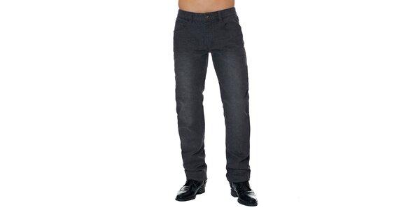 Pánske tmavo šedé džínsy Paul Stragas