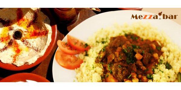 Arabské trojchodové menu
